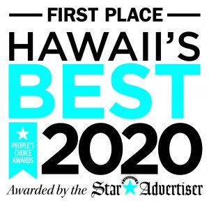 Hawaiis Best 2020 Logo FIRST PLACE 300x291